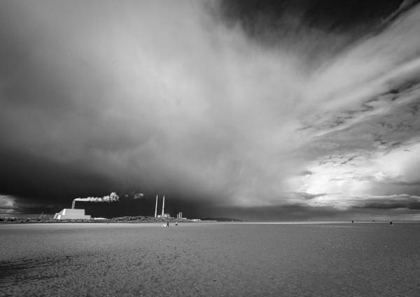 Hail Showers Dublin Bay