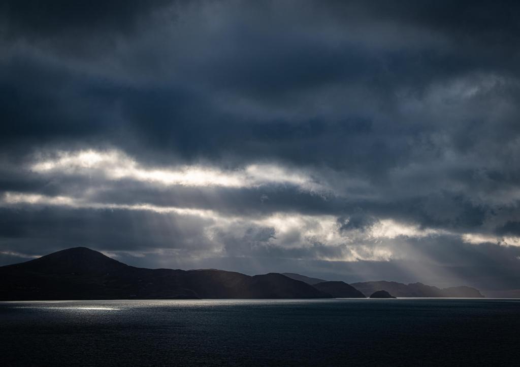 Light Cloud Bantry Bay West Cork