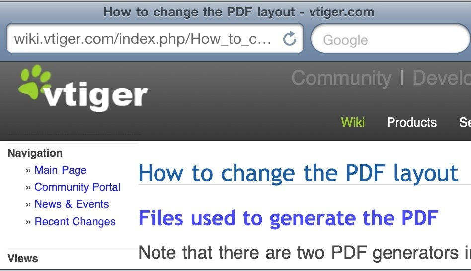 How to Change vTiger CRM PDF Layout Template – AdrianVideoImage