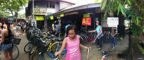 Bicycle rental in Pulau Ubin