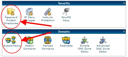 Password Protect a Directory in a Hostgator Website