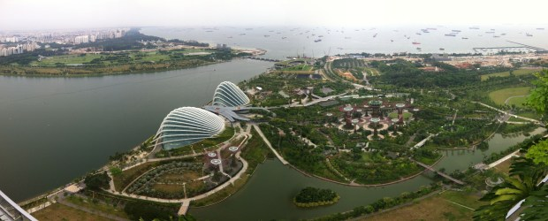 Singapore Marina Bay Sands View from the Top