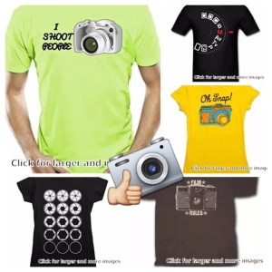 T-shirt for Photographers