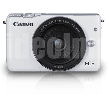 Canon EOS M10 with Kit II (EF-M15-45mm and EF-M 22mm)