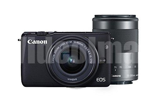 Canon EOS M10 with Kit III (EF-M 15-45mm and EF-M 55-200mm)