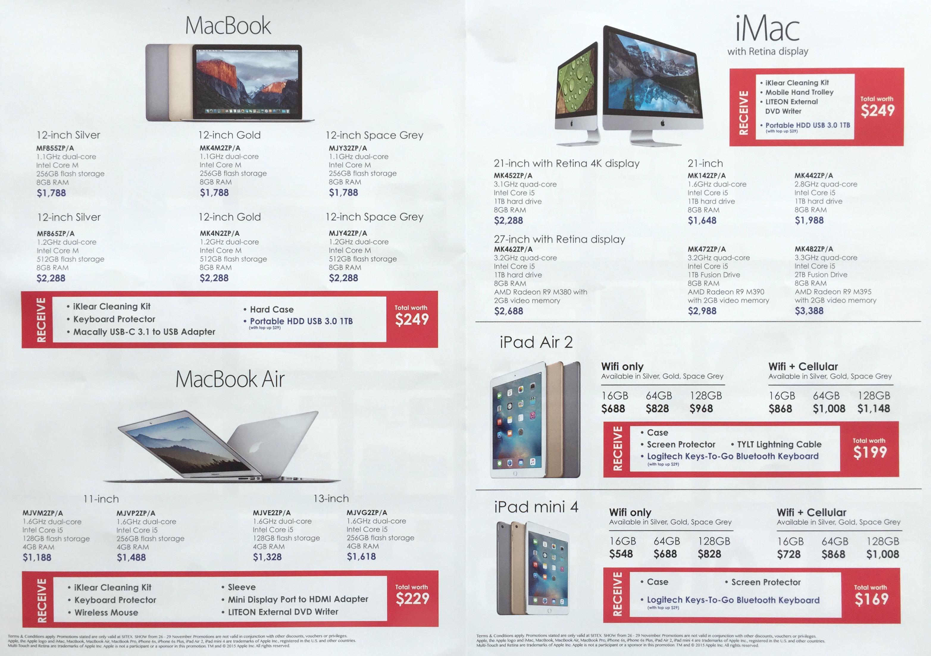 Best Denki @ SITEX 2015 - MacBook / MacBook Air / iMac / iPad Air 2