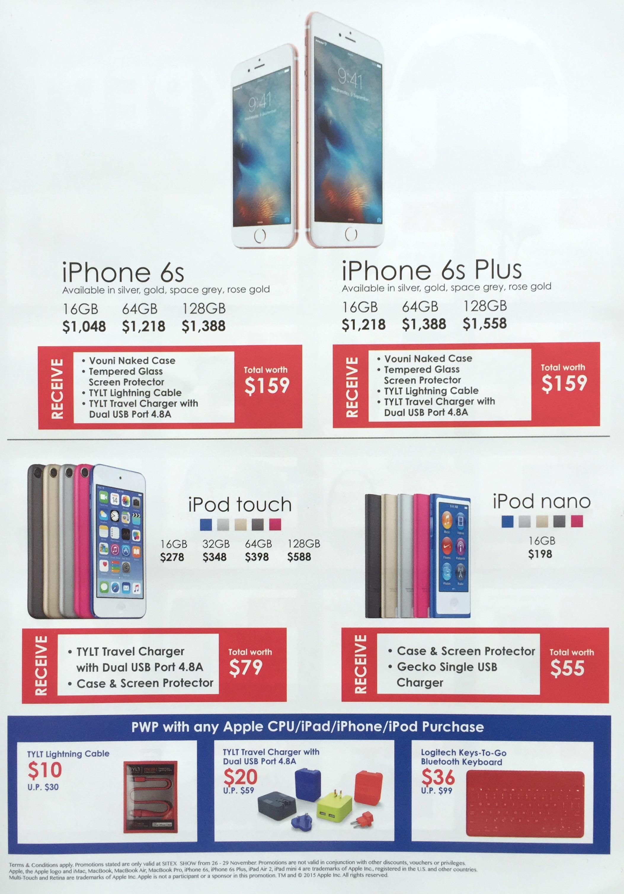 Best Denki @ SITEX 2015 - iPhone 6S / iPhone 6S Plus / iPod Touch / iPod Nano