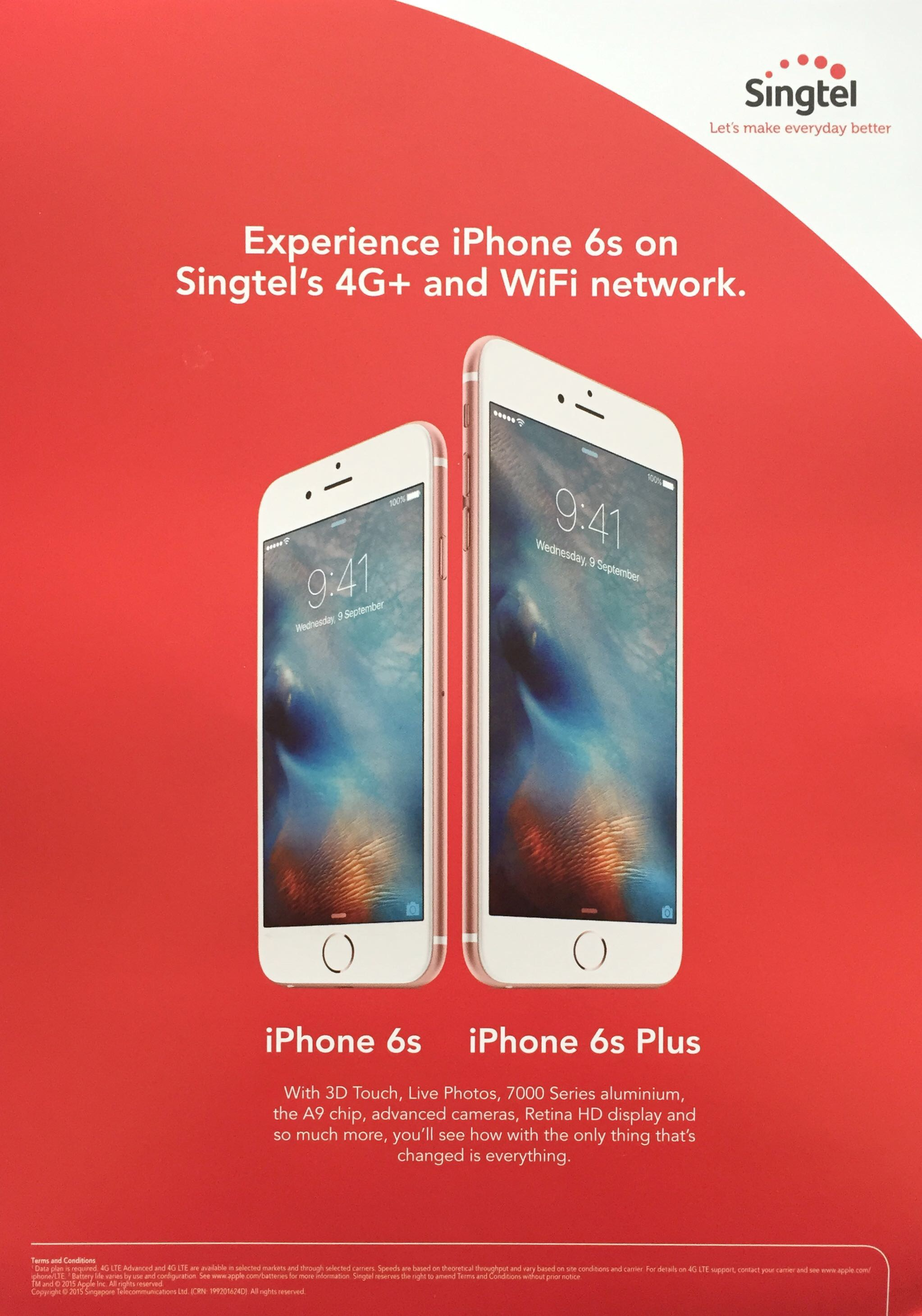 Singtel @ SITEX 2015 - iPhone 6S / 6S Plus