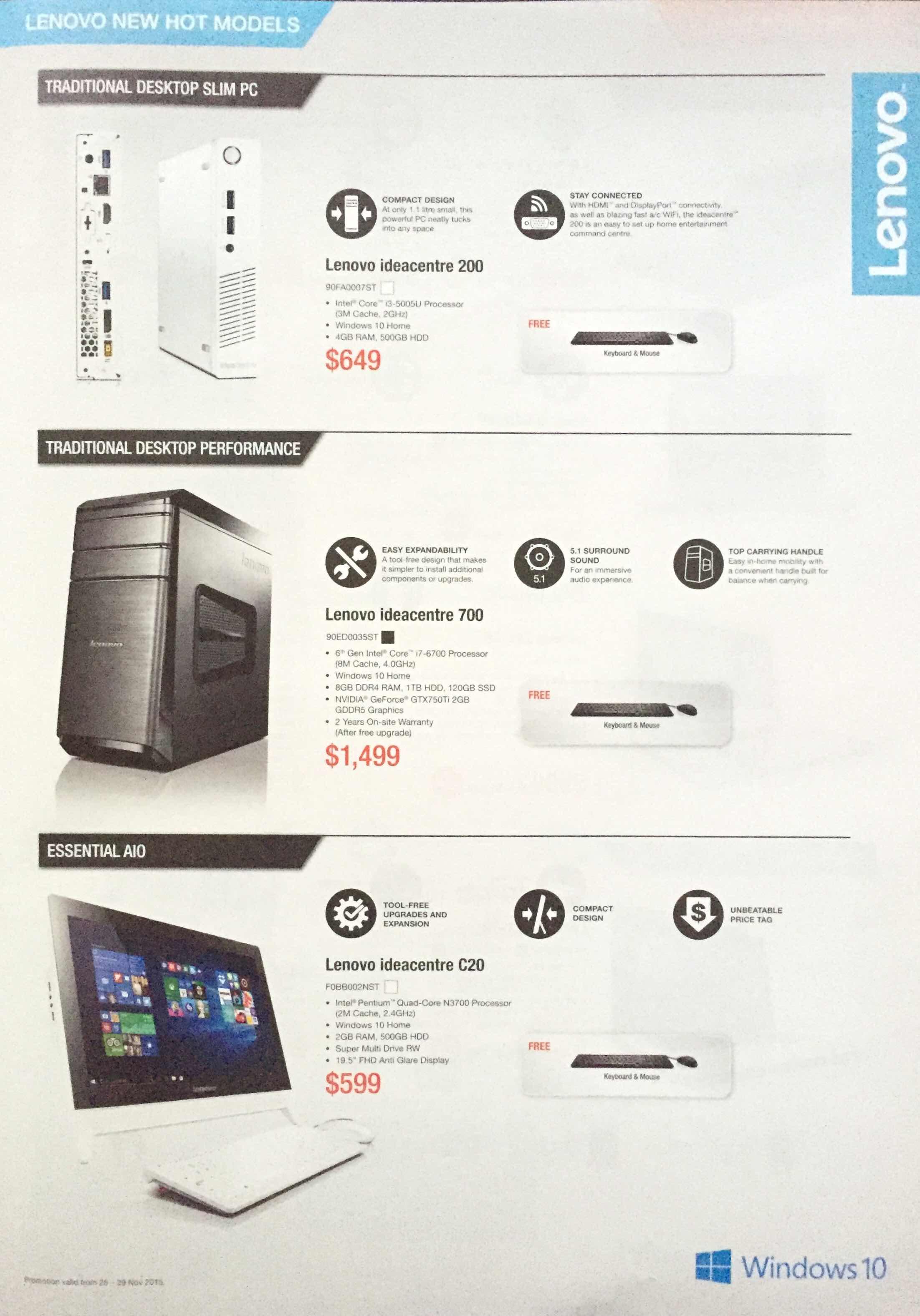 Lenovo SITEX 2015 - pg7 - LENOVO NEW HOT MODELS