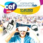 Consumer Electronics Fair 2016 | 17-20 Nov 2016 | 12-9pm | Suntec Singapore