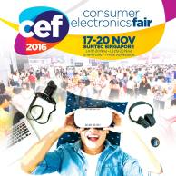Consumer Electronics Fair 2016 | 17-20 Nov 2016 | 12-9pm | Suntec Singapore |