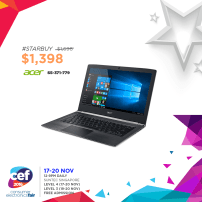 Acer S5-371-779 | Consumer Electronics Fair 2016 | 17-20 Nov 2016 | 12-9pm | Suntec Singapore