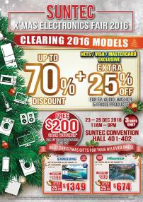 SUNTEC X'mas Electronics Fair 2016 | 23-25 December 2016 | sef_20161219a