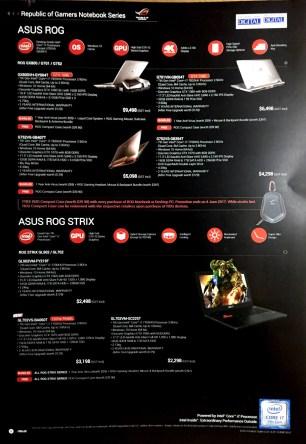 ASUS ZenBook Transformer VivoBook ROG Desktop @ PC Show 2017 | PG6