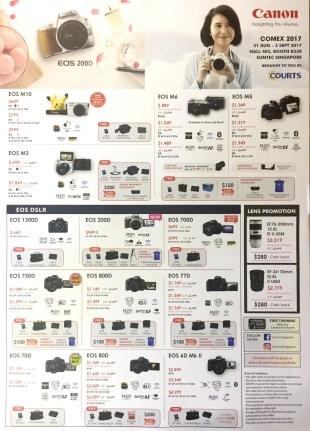 Canon Camera Deals @ COMEX 2017 | pg2