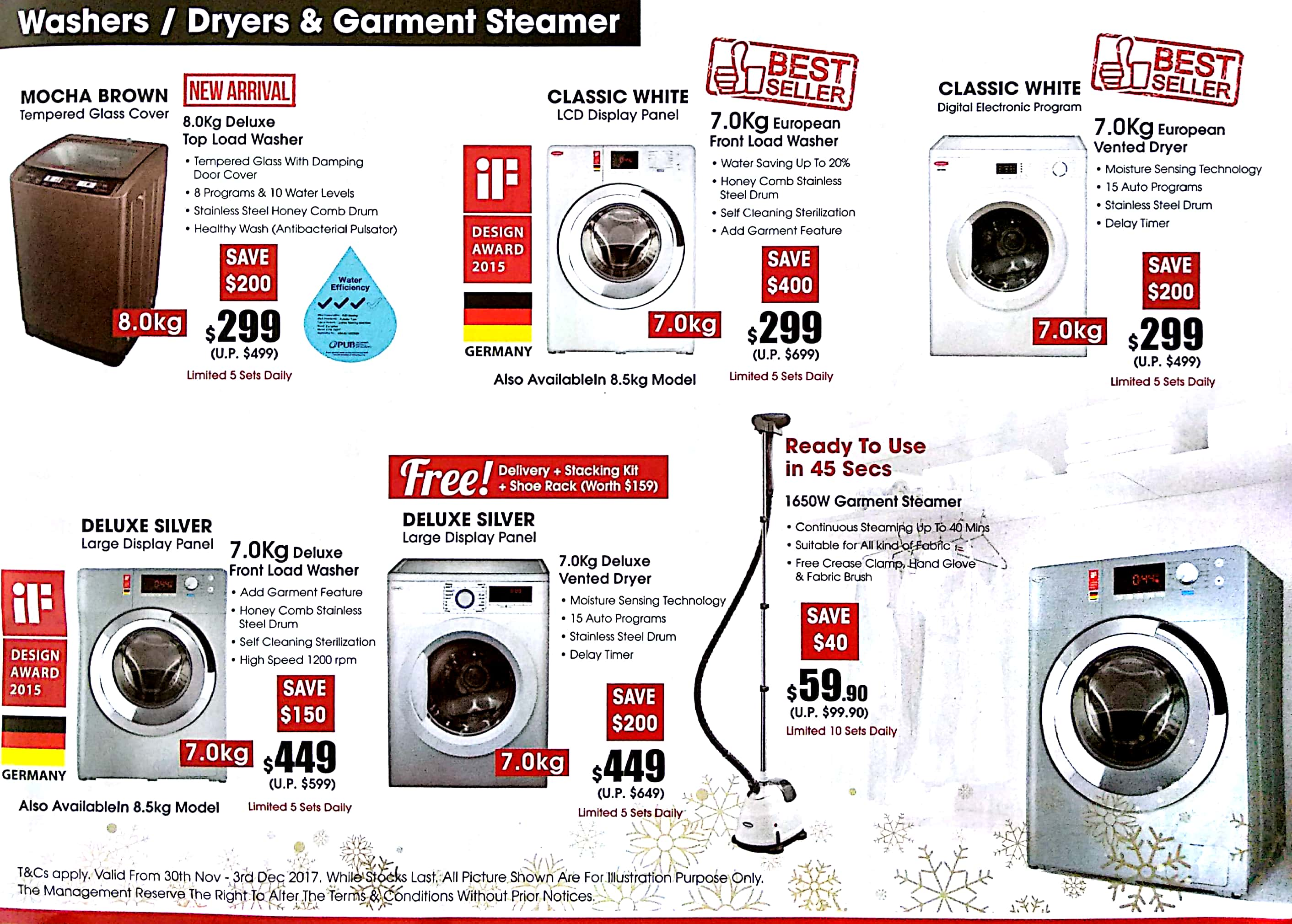 EuropAce Warehouse Sale | 30 Nov - 3 Dec 2017 | Brochure pg12