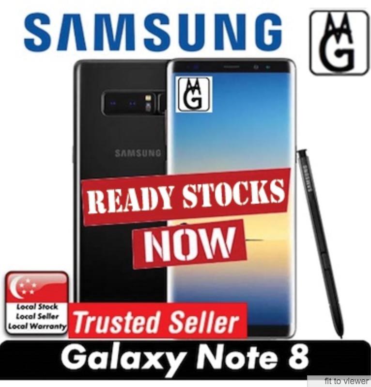 SAMSUNG GALAXY NOTE 8/ 6GB RAM/ 64GB ROM/ LOCAL SAMSUNG 1 YEAR WARRANTY