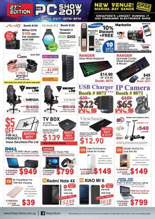 The PC Show 2017 Brochures | PG8
