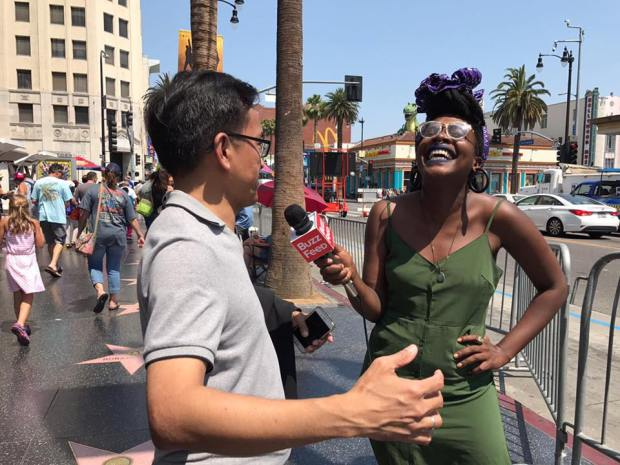 BuzzFeed interviews Adrian Lee in Hollywood