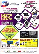 CEF Consumer Electronics Fair 2017 | 2 - 5 November | Suntec Singapore | pg1