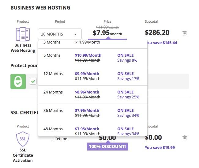 Hostinger Business Web Hosting Plan