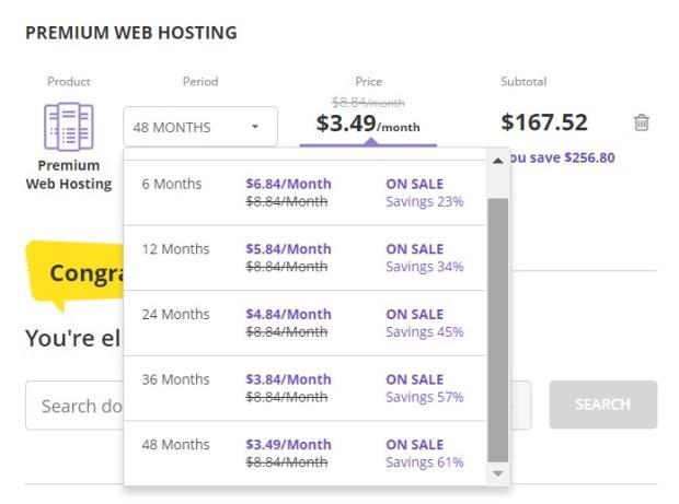 Hostinger Premium Web Hosting Plan