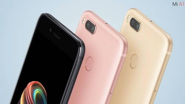 Xiaomi Mi A1 smartphone with dual lens camera