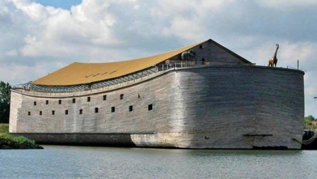 Conozca la increíble historia del hombre que hizo una réplica del Arca de Noé