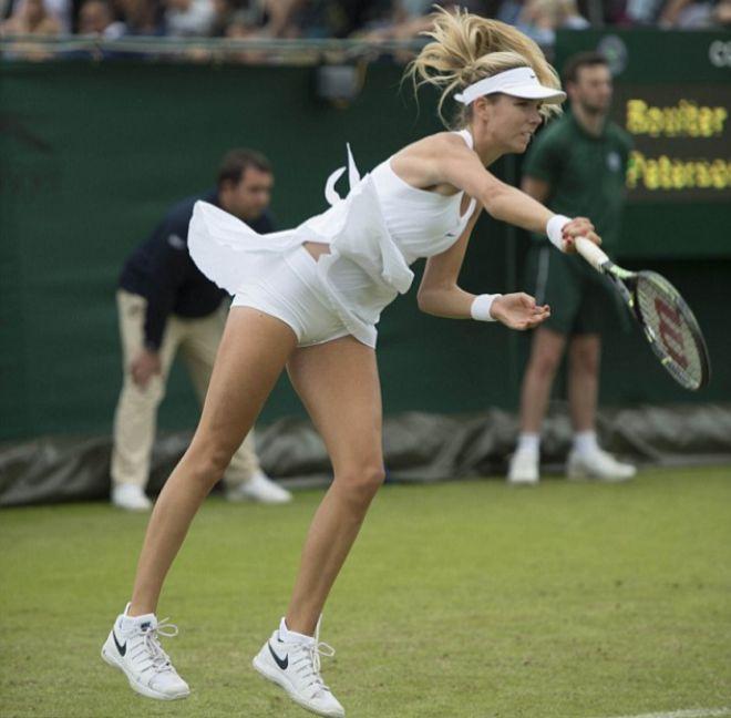 La polémica llega a Wimbledon: vestidos de Nike demasiado cortos para las tenistas