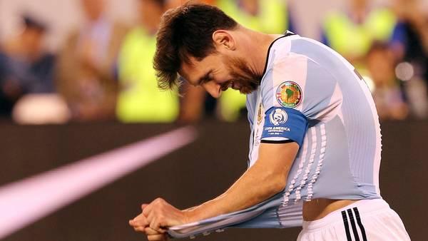 """Messi: """"La Selección ya se terminó para mí"""""""