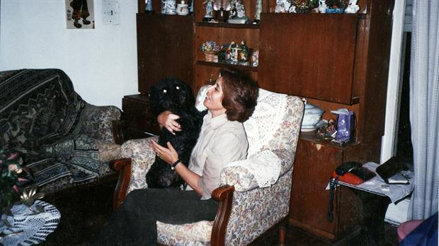 Bucky, el perro que se perdió y volvió a su dueña 2 años después