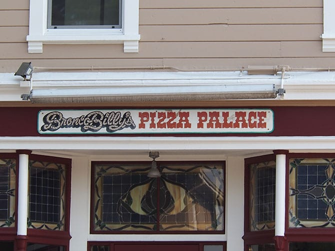 Bronco Billy's Pizza Palace Building