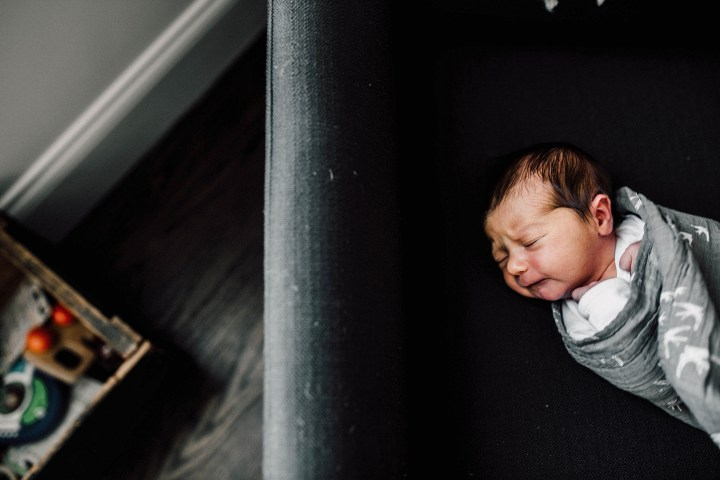 At home, baby h| Chicago and suburbs newborn photographer
