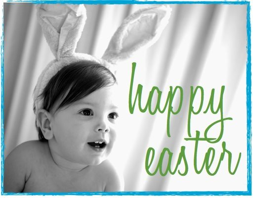 happy easter bunny toddler