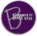 bloggers for birth kits logo 150
