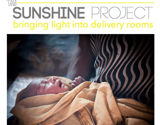 The Sunshine Project: Bringing light into the delivery room. Help a mama in Papua New Guinea this Mothers Day by giving a gift to your own mom. // www.loveamama.com