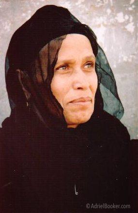 Coptic Orthodox woman Cairo Egypt 2006