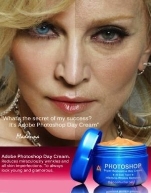 Adobe Photoshop Day Cream