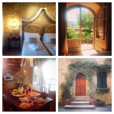 At home in Tuscany - the villa of delight.