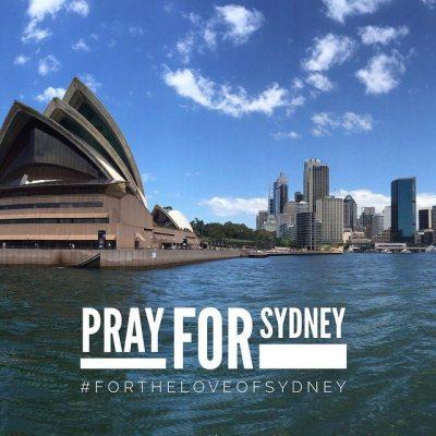 Pray for Sydney Siege