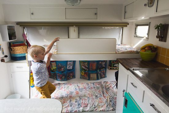 Tiny house, big love- life in our renovated vintage caravan — Adriel Booker-1