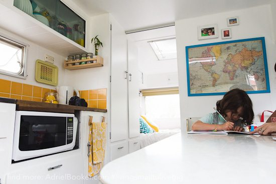 Tiny house, big love- life in our renovated vintage caravan — Adriel Booker-15