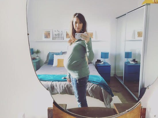 32 weeks pregnant after miscarriage