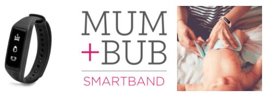 Mum+Bub Smartband