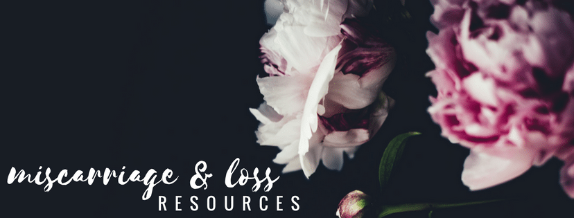 Miscarriage Stories & Resources—Adriel Booker