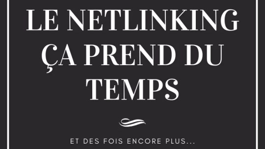 netlinking c'est long