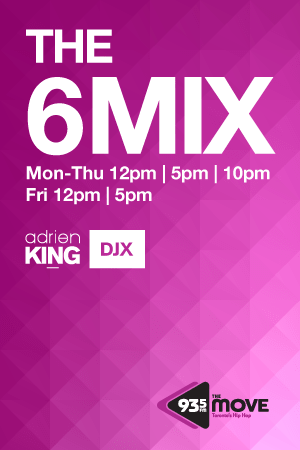 DJX - The 6 Mix - 93.5 The Move