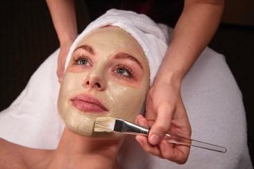 Facial Treatment mask.