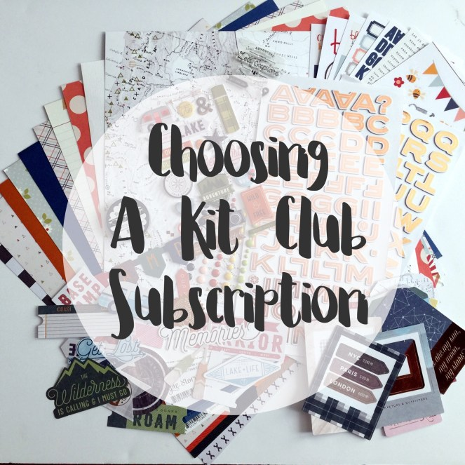 Tips for Choosing a Kit Club Subscription | adriennesinklings.com
