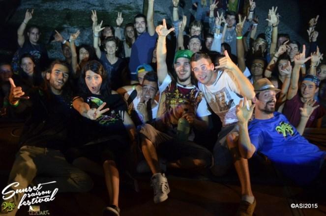 Photo Sunset saison festival 2015 I-Sens the diplomatik's reggae band la teste de buch photographe adrien sanchez infante bassin d'arcachon (1)